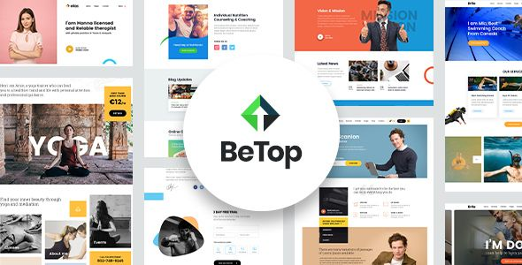 BeTop WordPress Theme