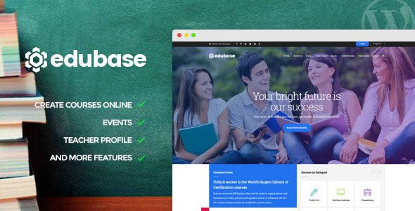 Edubase WordPress Theme