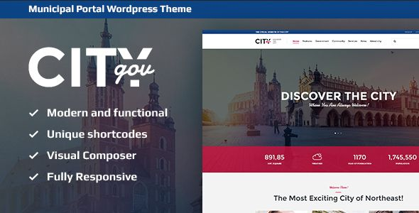 CityGov Wordpress Theme