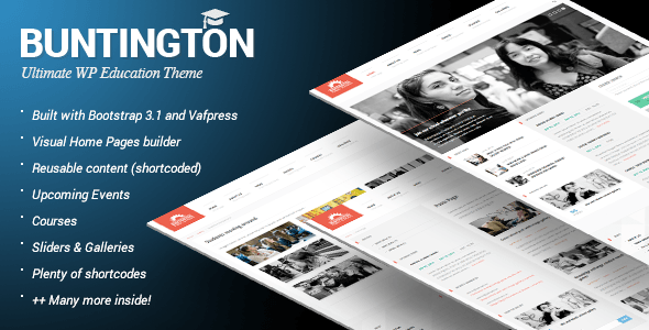 Buntington Wordpress Theme