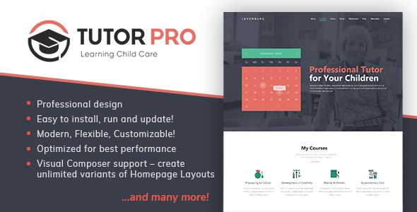 Tutor Pro WordPress Theme