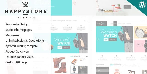 Happystore Wordpress Theme