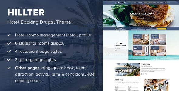 Hillter Wordpress Theme