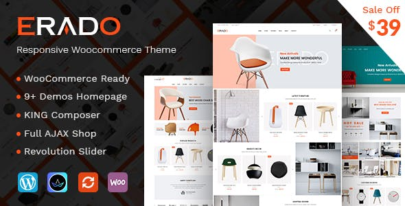 Erado WordPress Theme