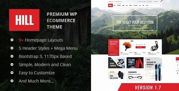 HILL Wordpress Theme