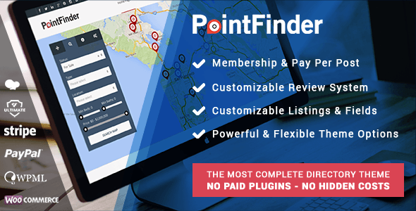 Point Finder Directory Theme
