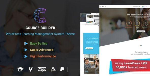 Course Builder LMS WordPress theme