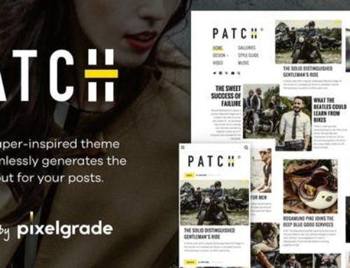 Patch Theme – Unconventional Newspaper Theme v1.5.0