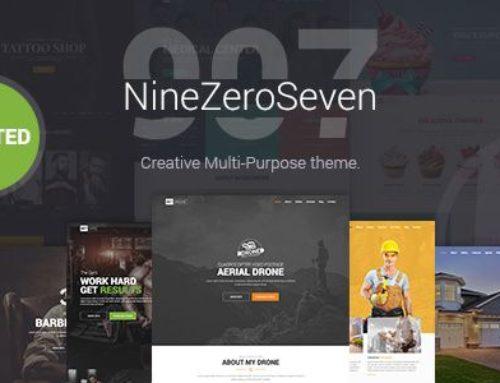 907 Theme – Multipurpose WordPress Theme v4.1.17