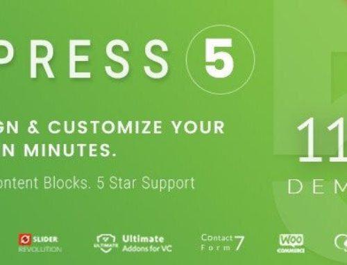Apress WordPress Theme – Multipurpose Theme v5.0.1