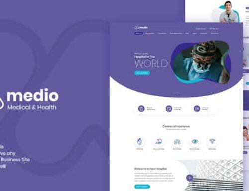 Medio Theme – Medical WordPress Theme
