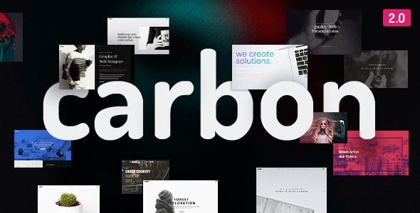 Carbon Wordpress Theme