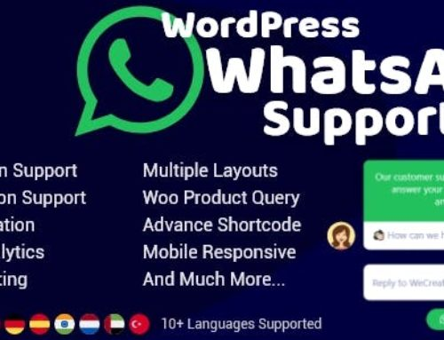 WordPress WhatsApp Support Plugin