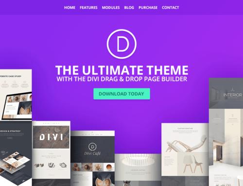 Divi Theme – The Ultimate WordPress Theme V4.0.6