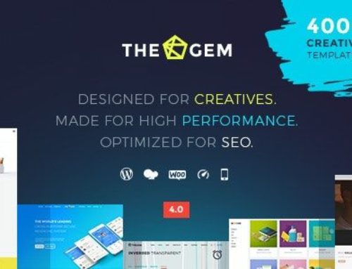 The Gem WordPress Theme – Creative Multi-Purpose Theme v4.0.1